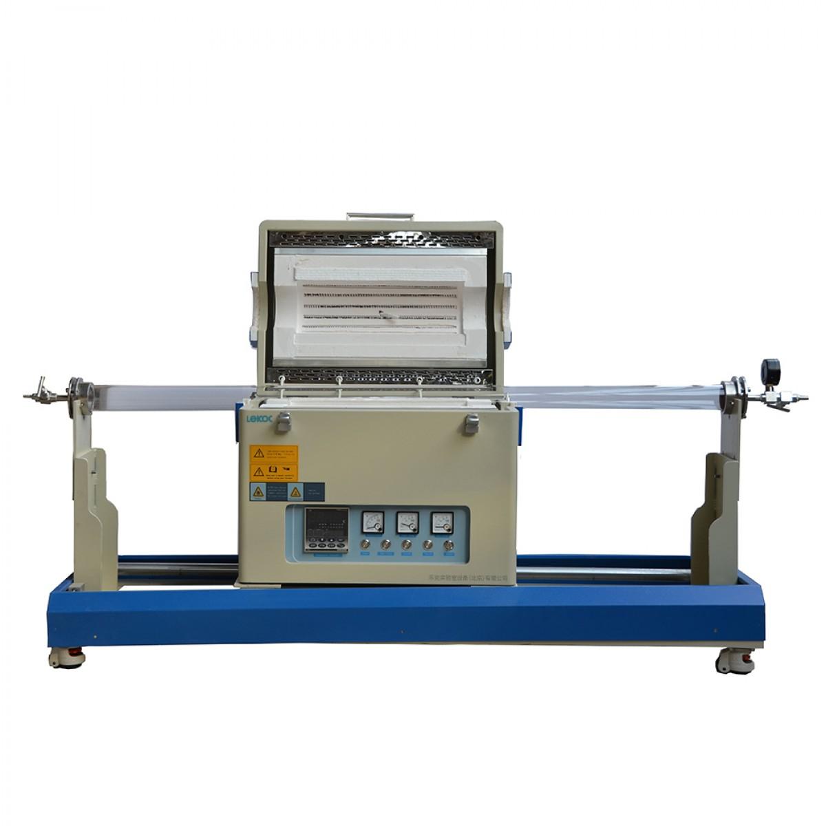乐克严选 LEKOC TL1200-M单温区滑动管式炉TL1200-M-III