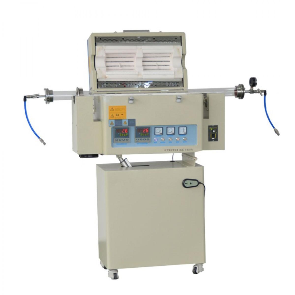 乐克严选 LEKOC RTL1200-1200双温区转动管式炉