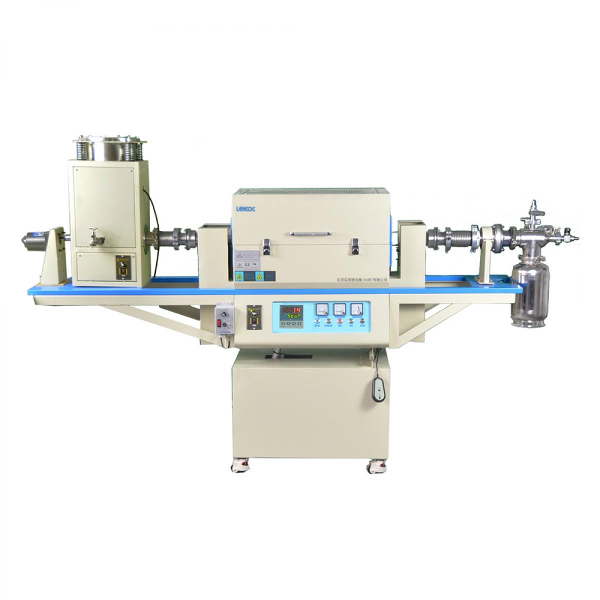 乐克严选 LEKOC RTL1200单温区转动管式炉(带自动进料系统和收料器)