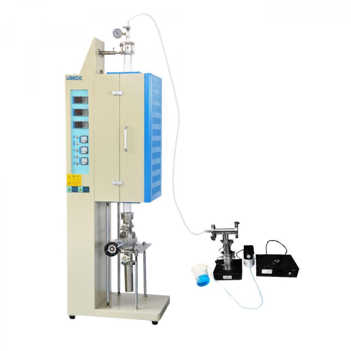 乐克严选 LEKOC VTL1200-1200-1200超声雾化和连续收集热分解立式炉