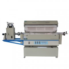 乐克严选 LEKOC RTL1200-1200-1200三温区转动管式炉( 带自动进料器)