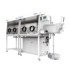 伊特克斯 Etelux 2400单面双工位一体式手套箱Lab2000无水无氧实验室用手套箱密封保护箱