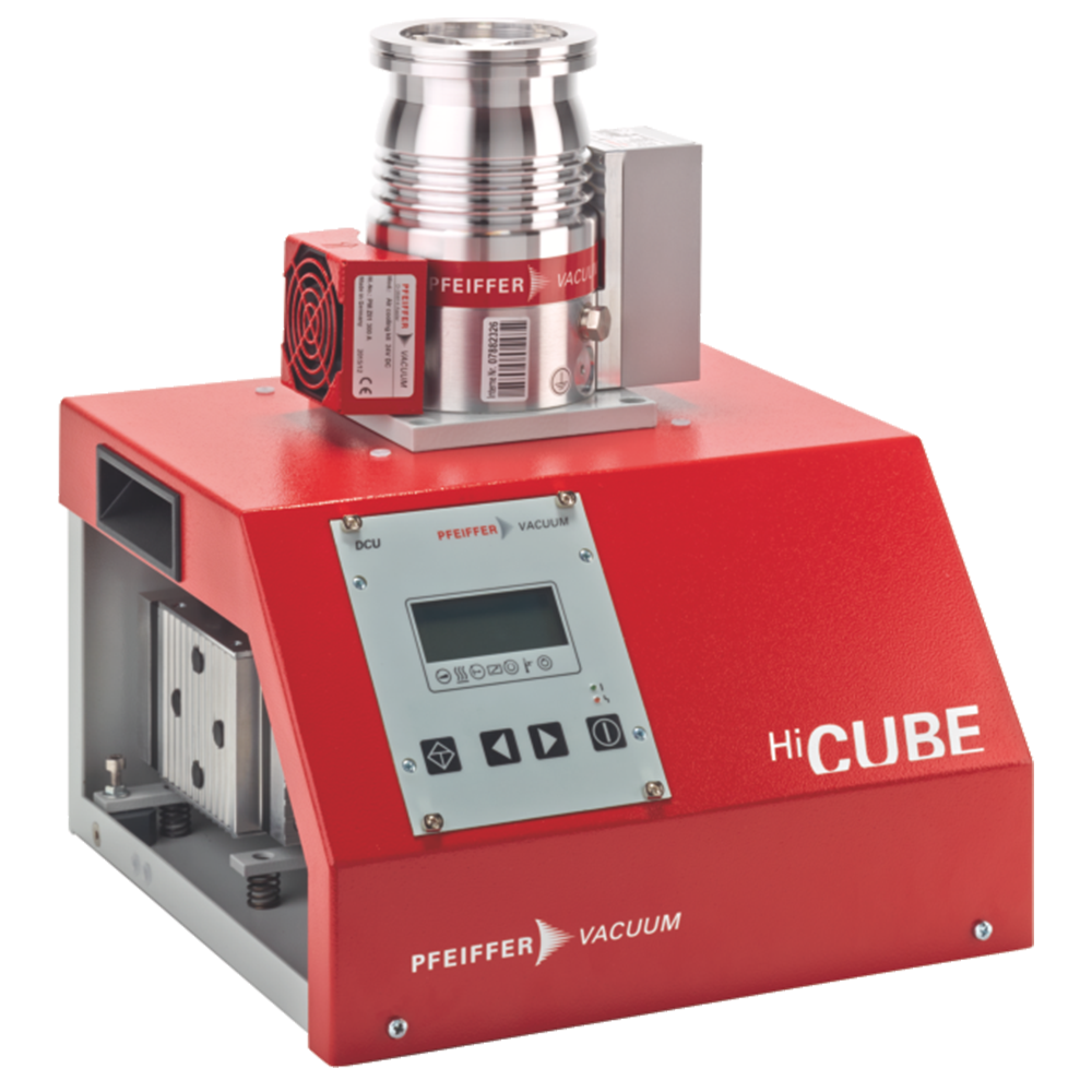 普发真空  Pfeiffer Vacuum DN100 CF-F, MVP 015-4小型桌面分子泵机组 PM S77 150 00涡轮分子泵组HiCube 300 Eco
