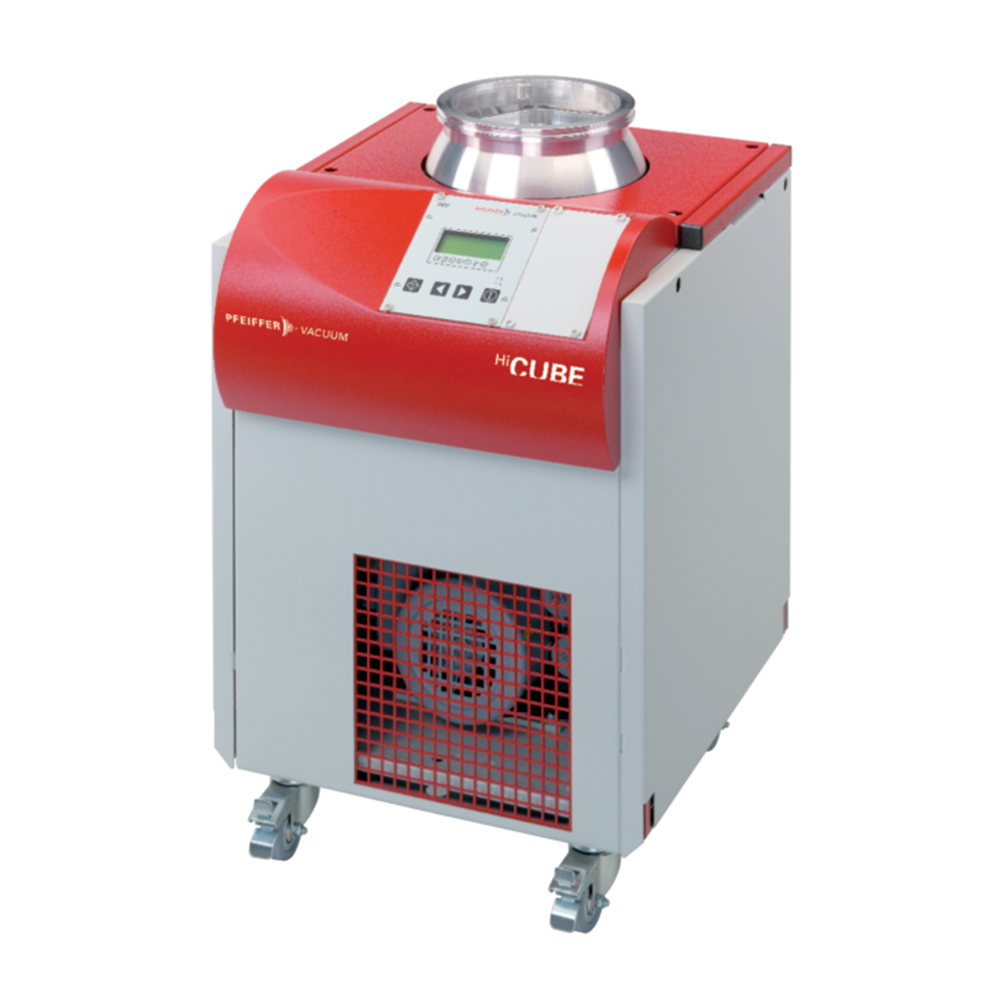 普发真空  Pfeiffer Vacuum DN 100 CF-F, Duo 3M前级泵  PM S33 430 00涡轮分子泵组高真空HiCube 300 H Classic