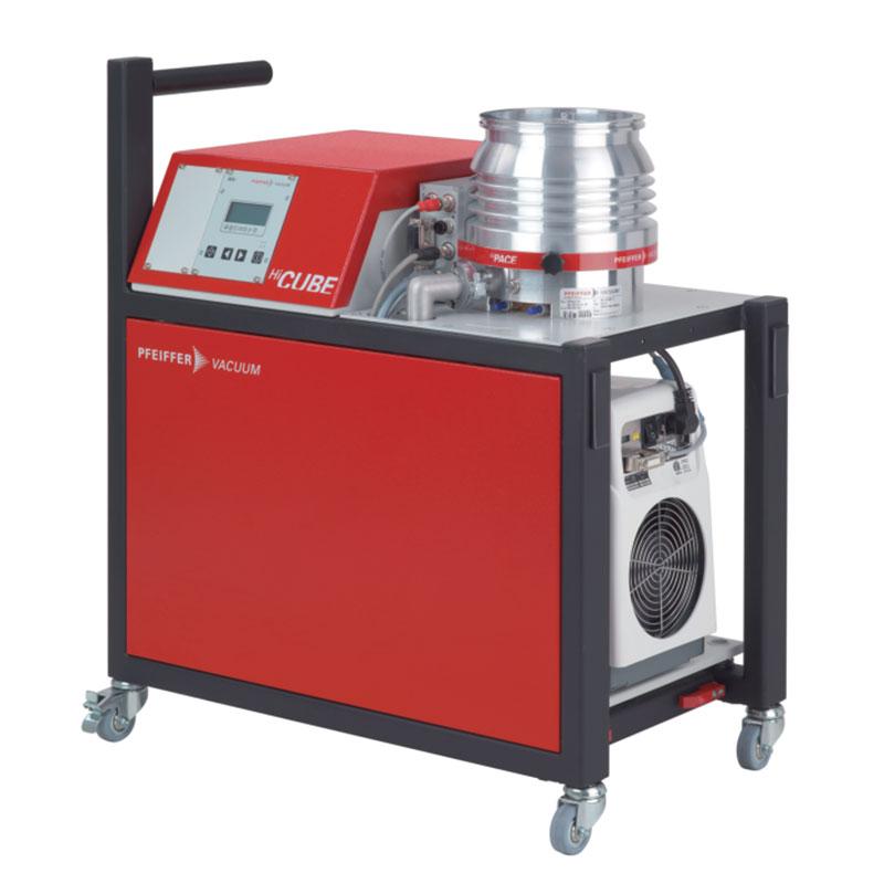 普发真空  Pfeiffer Vacuum DN 160 CF-F, Pascal 2010前级泵 PM S57 740 00涡轮分子泵组高真空泵站HiCube 700 H Pro