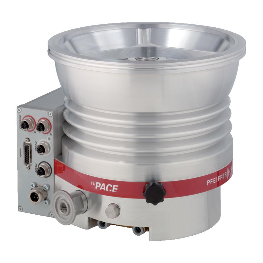 普发真空  Pfeiffer Vacuum 涡轮分子泵配备了 TC 400、DN 200 CF-F接口PM P04 301高压缩率分子泵HiPace® 800