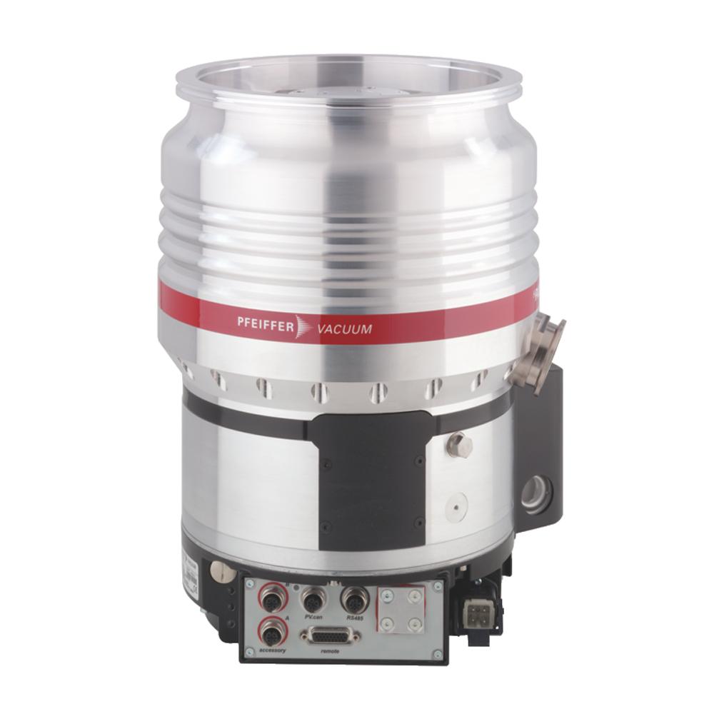 普发真空  Pfeiffer Vacuum 涡轮分子泵配备了 TC 1200、DN 200 ISO-F接口PM P03 914高压缩率分子泵倒挂版本HiPace® 1200 U
