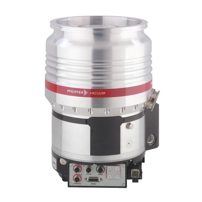 普发真空  Pfeiffer Vacuum 涡轮分子泵配备了TC 1200,Profibus,DN 200 ISO-K接口PM P04 118耐腐蚀性高压缩率分子泵HiPace® 1200 UC