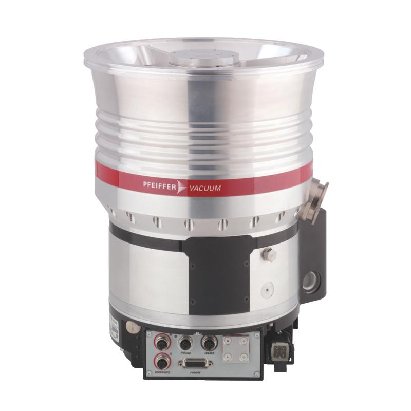 普发真空  Pfeiffer Vacuum 涡轮分子泵配备了TC 1200,DN 250 ISO-K接口PM P04 060高压缩率分子泵HiPace® 1500
