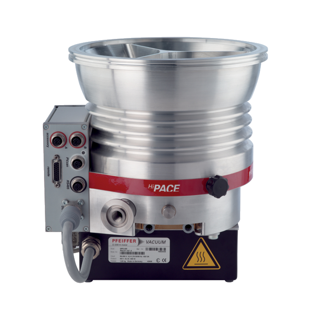 普发真空  Pfeiffer Vacuum 涡轮分子泵配备了 TC 400、DN 200 ISO-K接口PM P04 677高压缩率分子泵HiPace® 800