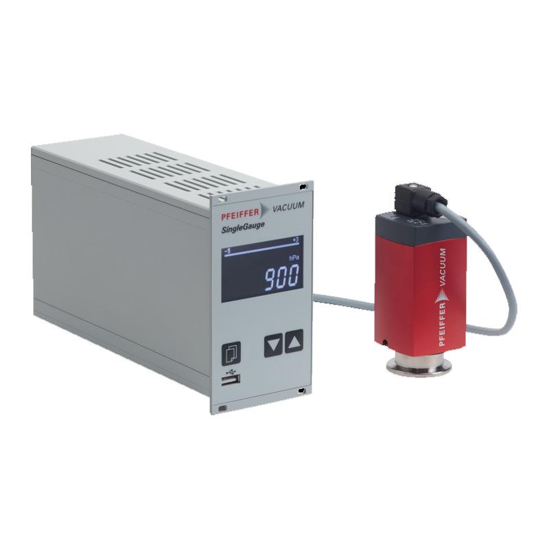 普发真空  Pfeiffer Vacuum PT 441 955 -T,测量设备含PKR 361真空计和电缆,接口DN 25 ISO-KF控制器TPG 361