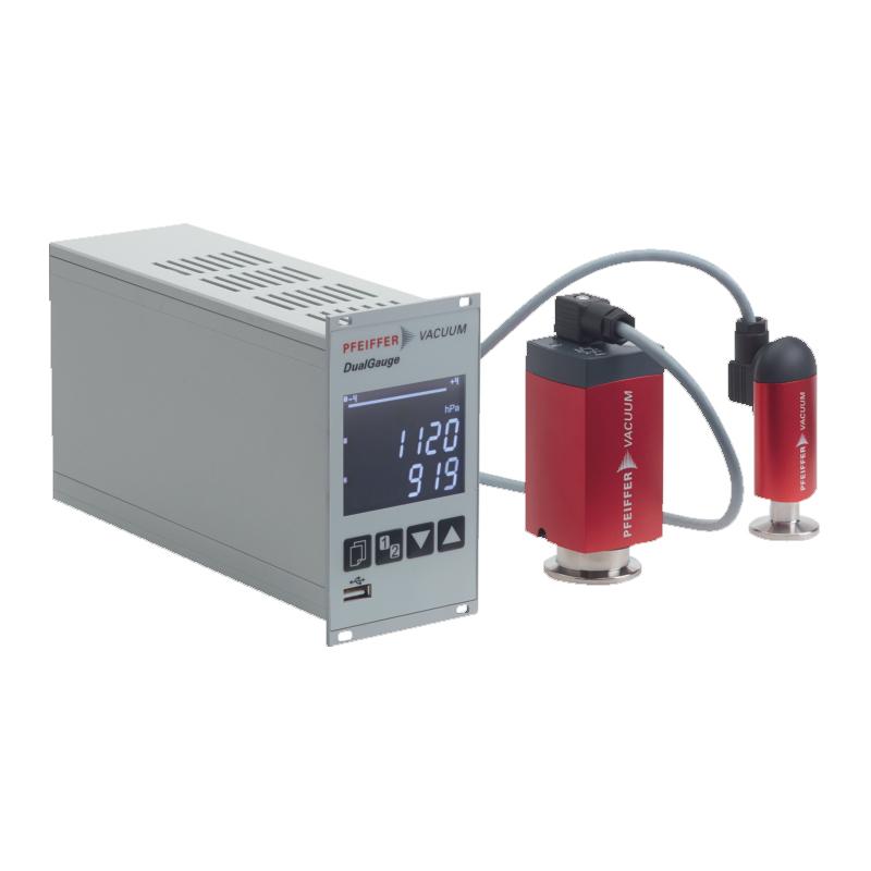 普发真空  Pfeiffer Vacuum PT 441 960 -T,测量设备含两个TPR 280真空计和电缆,接口DN 16 ISO-KF控制器TPG 362