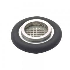 普发真空  Pfeiffer Vacuum PT 120 132 -T,具有金属网孔精细过滤器的定心环,孔径 4 µm,FKM/不锈钢, DN 16 ISO-KF